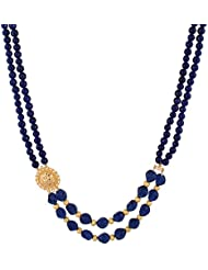 WHP Jewellers Navratri Collection 22k Yellow Gold Multi Strand Necklace