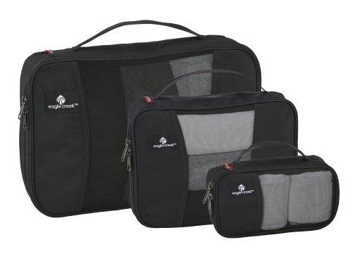Eagle Creek Travel Gear Luggage It, Black 3 Pack