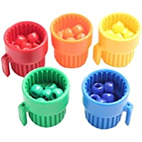 Cute Tiny Colored Cups And Beads Preschool Color Sorting Cups And Fine Motor Activity Ot Busy Bag Preschool And...