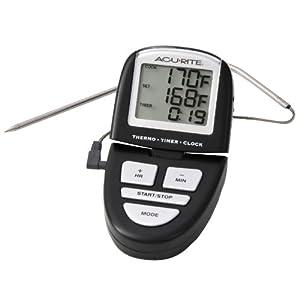 Amazon.com: AcuRite 0648SB Digital Grill Probe Thermometer