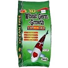 OCEAN FREE XO Wheat Germ - Growth   1kg   Koi & Goldfish Food