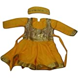 WTR Kathak Dance Dress For Kids For Fancy Dress Dance Competitions/Functions 12 To 14 Years (Size: Top Length:...
