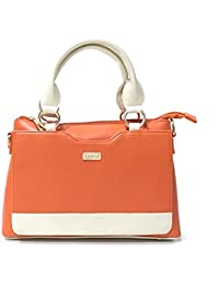 Lizzie Formal, Party, Wedding, Official Orange Hand Held Tote Sling Bag
