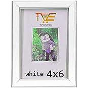The Vintage Era White Plastic Photo Frame 4 X 6