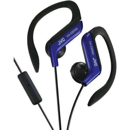 JVC HAEBR80A Sport-Clip In-Ear Ear-Clip Headphones with Micr