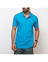 Yepme Men's Cotton Polo Tees - YPMPOLO0237-$P