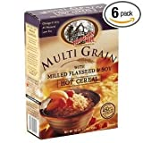 Hodgson Mill Multi Grain Milled Flaxseed & Soy Hot Cereal 16 OZ (Pack Of 12)