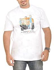 Stallion Cottons Men's Round Neck Cotton T-Shirt - B00ZIHQU1S