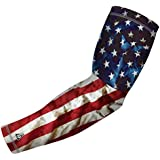 Sports Compression Arm Sleeve For Baseball Football Basketball And Other Sports Activities. By B-Driven Sports...