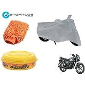 ESHOPITUDE-Bike & Car Cleaning & Utility Combo Set Of 3-Honda SHINE