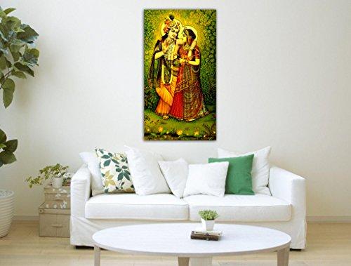 Tamatina Canvas Painting Radha Krishna Vrindavan Best Deals With