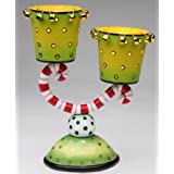 Appletree Design Two Cups Candle Holder 8-1/4-Inch Tall Candles Not Included
