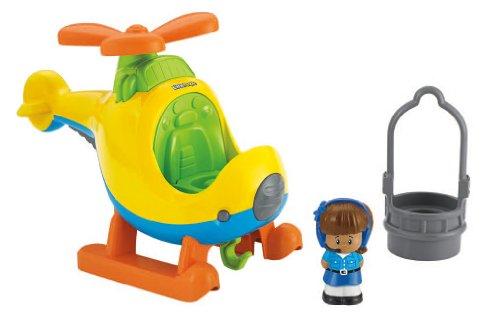 Fisher-Price Little People Helicopter JungleDealsBlog.com