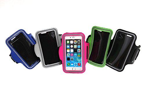 【SCGEHA】iPhone6 iPhone6 plus アームバンド ケース スマホ アイフォン ジョギング ランニング サイクリング (ブラック, iPhone6)