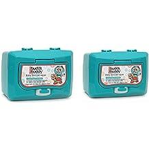 Buddsbuddy Baby Skin Care Wet Wipes Canister Combo Of 2, 50pcs (100 Cont),Ninku (White)