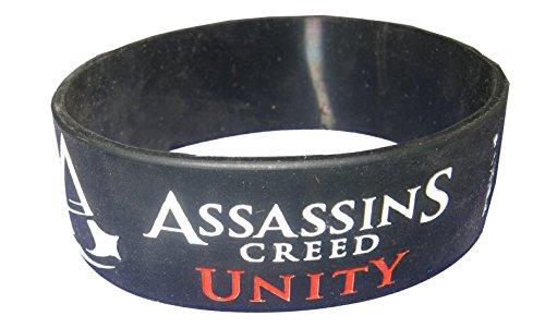 Assassins Creed Unity Silicone Wrist Band (Medium)