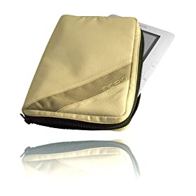 Sport Zip Case/Travel Pack for Amazon Kindle & Kindle 2 - Sand