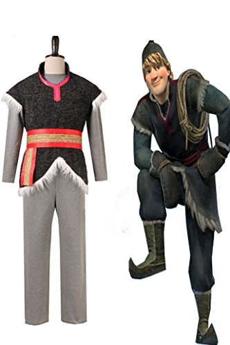 Kristoff Outfit Cosplay Costume (Men-XL)