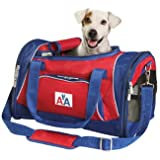 Sherpa American Airlines Duffle Dog Carrier Bag, medium Red