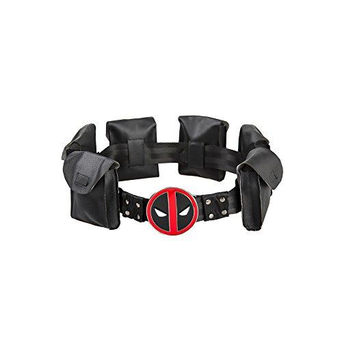 Deadpool Cosplay Belt with Metal Buckle Halloween Costume