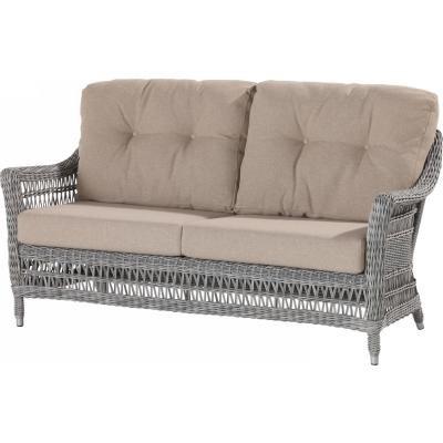 4 Seasons Outdoor Paddock 2.5-Sitzer Sofa Polyrattan rock