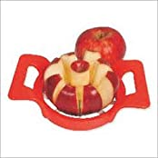 Apple Cutter Slicer With Push Handle Unbreakable Removes Center Core With 8 Pieces / Slices.