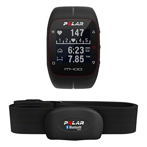 Polar M400 - Reloj de entrenamiento con GPS integrado y registro de actividad con sensor de frecuencia cardíaca H7, color...