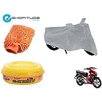 ESHOPITUDE-Bike & Car Cleaning & Utility Combo Set Of 3-Yamaha JUPITER