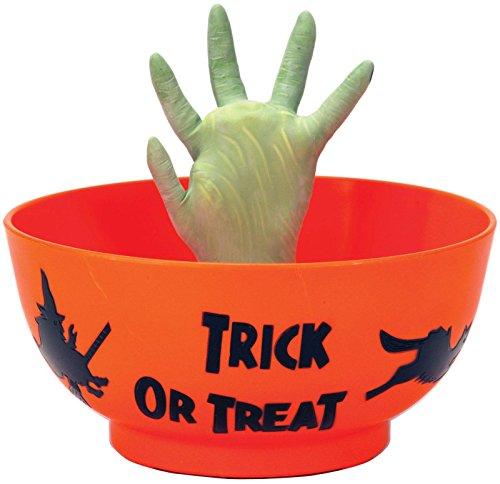 Animated Monster Hand in Orange Bowl (Standard)