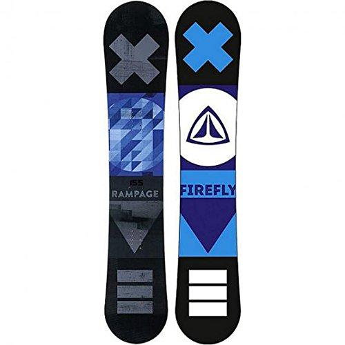 Firefly Snowboard Rampage schwarz/blau + Firefly Soft-Bdg.A5.5 Men Set
