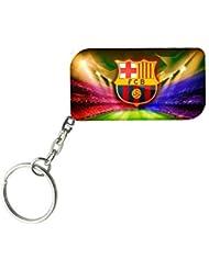 FC Barcelona | ShopTwiz WOODEN Key Ring - B01JWAOFNQ