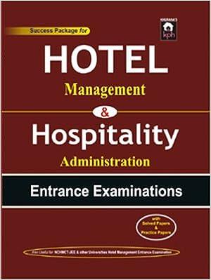 HOTEL Management Exam-Book 2017 Edition