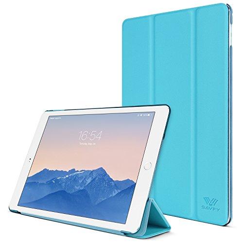 SAVFY Housse en PU Cuir Coque pour Apple iPad Air / iPad 5 Magnétique Smart Cover Case + FILM D'ECRAN - Housse de Protection Etui avec Rabat/Stand de ...