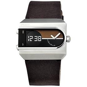 FOSSIL (フォッシル) 腕時計 FUEL ブラック/ウッド JR9121 メンズ [正規輸入品]