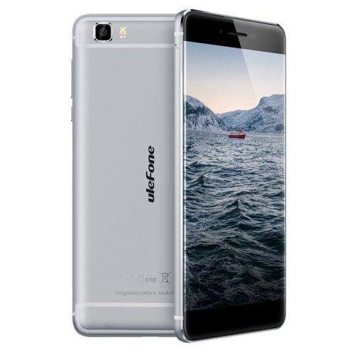 Ulefone Future 32GB Réseau Supporté : 4 G 5,5 Pouces-3D Bezel less Écran Android 6,0 MTK6755 Helio P10 Octa Core RAM : 4GB (Grey)
