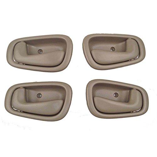 Toyota Corolla Tan Interior Door Handles Set of 4