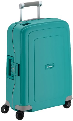 Samsonite Bagage Cabine S'cure Spinner - 55X40X20 , 34 L ,Turquoise