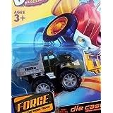 Tonka CHUCK & Friends Twist Trax Diecast FORGE [Green WORK Truck]
