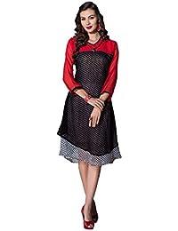 Alethia Enterprise Black & Red Color Georgette Printed Stitched Kurti-ALH506KI242CN