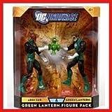 DC UNIVERSE GREEN LANTERN FIGURE PACK ABIN SUR & GREEN LANTERN 2 PACK