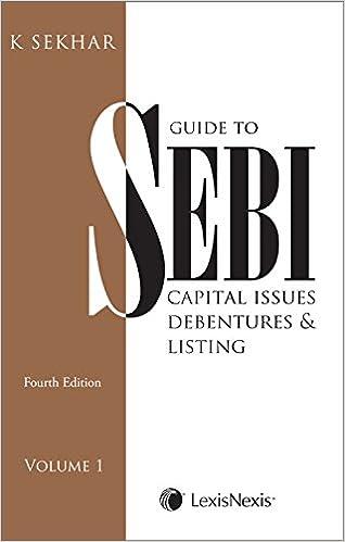 Guide to SEBI - Capital Issues, Debentures & Listing