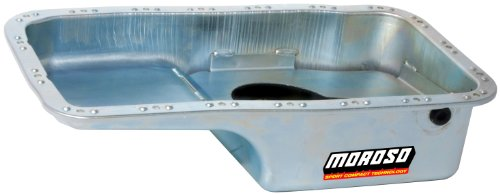 Moroso 20911 Stock Configuration Oil Pan for Honda 1.8L Engines