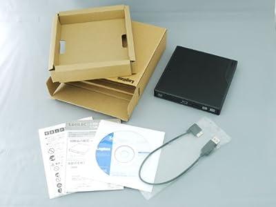 Logitec USB3.0対応 ポータブルブルーレイドライブ BDXLライティング付き 【USBバスパワー対応】 ブラック LBD-PME6U3LBK [フラストレーションフリーパッケージ (FFP)]