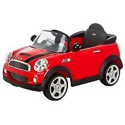 Kid Trax Mini Cooper 6V Electric Car Red