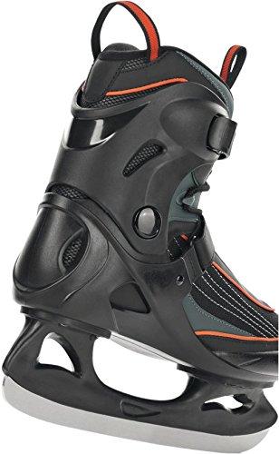 Schlittschuhe Eiskunstlauf Eishockey Eislaufschuhe Gr. 42 NEU orange