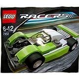LEGO Racers: Le Mans Sports Car (Green) Set 7452 (Bagged)