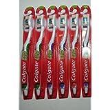 Colgate Extra Clean Full Head, Medium Toothbrush #41, Pack Of 6