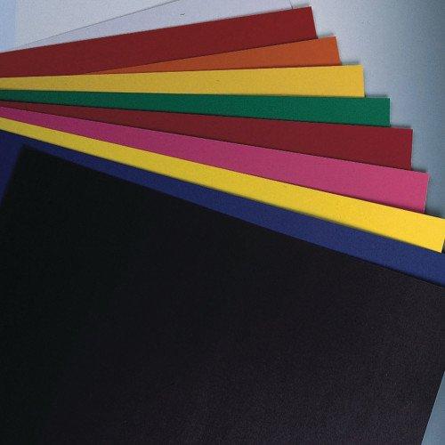 Pacon 54611 Six-Ply Poster Board, 28 x 22, White, 25/Carton