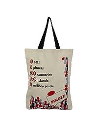Cotton Canvas Multipurpose Shopping Bag - B015H6E5NE