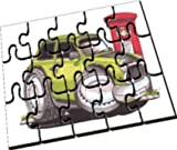 Personalisiertes Koolart - Mr. Bean Mini Car - A5 Holzpuzzle by Eminence Gifts Ltd
